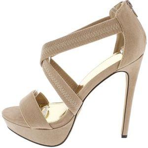 Aphrodite Nude Platform Heel